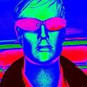 Pink Sunglasses Poster