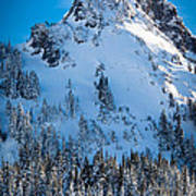 Pinnacle Peak Winter Glory Poster