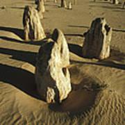 Pinnacles In Nambung National Park Poster