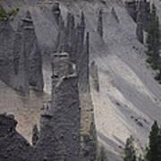 Pinnacles Valley Poster