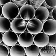 Pipes Long Island City Queens. Poster
