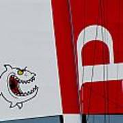 Piranha Catamaran Poster
