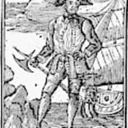 Pirate Edward England Poster