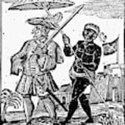 Pirate Henry Every, 1725 Poster