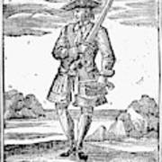Pirate John Rackam, 1725 Poster