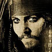 Pirate Life - Sepia Poster