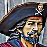 Pirate Man Poster