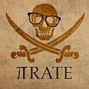 Pirate Math Nerd Humor Poster Art Poster