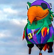Pirate Parrot Pegleg Pete Poster