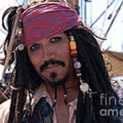 Pirate With Kind Eyes Poster