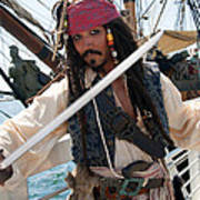 Pirate With Sword Poster