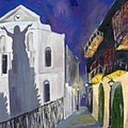 Pirate's Alley French Quarter Painting  Poster