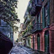 Pirate's Alley In New Orleans Poster