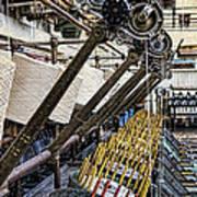 Pirn Winding Machine Poster