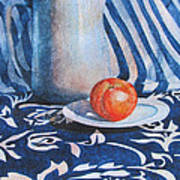 Pitcher With Fruit Poster