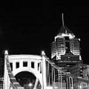 Pittsburgh Bridge Poster