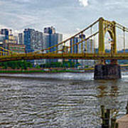Pittsburgh Clemente Bridge Poster