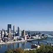 Pittsburgh Pennsylvania Skyline Poster