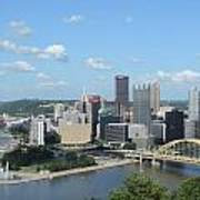 Pittsburgh Skyline From Mount Washington Poster