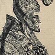 Pius Iv 1499-1565. Pope 1559-1565 Poster