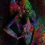Pixel Girl Poster