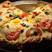 Pizza Pie - 5d20700 - Square Poster