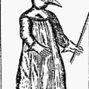 Plague Costume, 1720 Poster