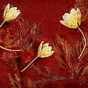 Plain Flowers Pop Art Poster