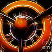 Plane - All Orange Poster