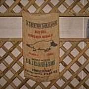 Platapus Jute Bags Poster