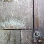 Plated Metal Texture Poster