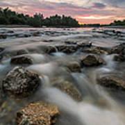 Playful River Poster
