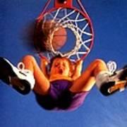 Playing Basketball Poster