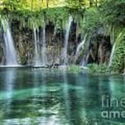 Plitvice Falls Poster