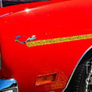Plymouth Road Runner Closeup Poster