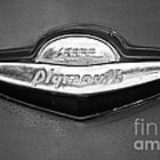 Plymouth Trunk Emblem Poster