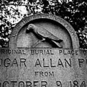 Poe's Original Burial Place Poster