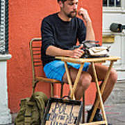 Poet For Hire Poster by Steve Harrington
