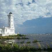 Point Abino Lighthouse Poster