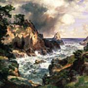 Point Lobos Monterey California Poster by Thomas Moran