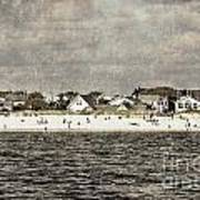 Point Lookout Beach  Vintage Poster