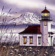 Point Robinson Lighthouse Poster