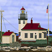 Point Robinson With Shoreline Detail 2013 Poster