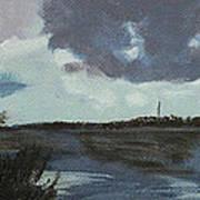Pointe Aux Chein Blue Skies Poster