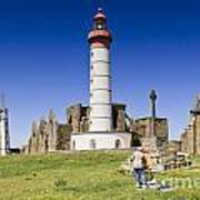 Pointe Saint Mathieu Brittany France Poster