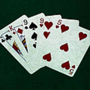 Poker Hands - Two Pair 1 Poster