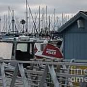 Police Boat Poster