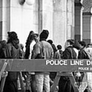 Police Line 1990s Poster