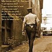 Police Poem Poster