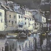 Polpero Cornwall England Poster